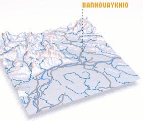 3d view of Ban Houay Khio