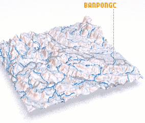 3d view of Bản Póng (2)