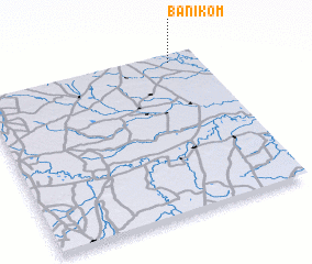 3d view of Ban I Kom