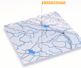 3d view of Ban Na Si Nuan