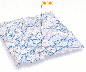 3d view of Bản Ac