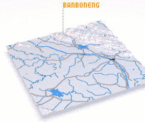 3d view of Ban Bonèng