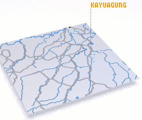 3d view of Kayuagung