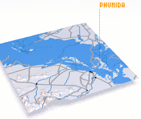 3d view of Phumĭ Da