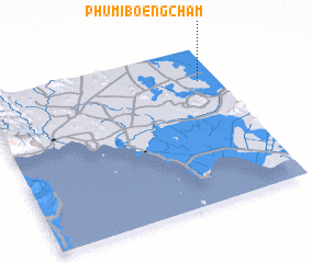 3d view of Phumĭ Bœ̆ng Cham
