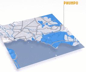 3d view of Phum Pô