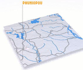 3d view of Phumĭ O Poŭ