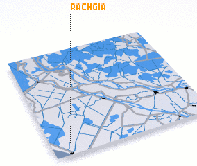 3d view of Rạch Giá