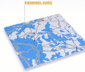 3d view of Phumĭ Mé Loŭng