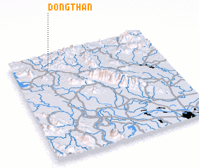3d view of Ðông Thàn