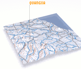 3d view of Quâng Xá