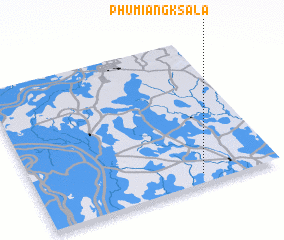 3d view of Phumĭ Ângk Sala