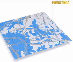 3d view of Phumĭ Thna