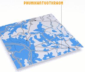 3d view of Phumĭ Kântuŏt Kraôm