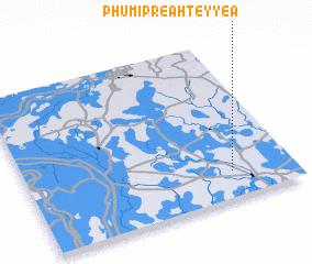 3d view of Phumĭ Preăh Teyyéa