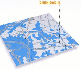 3d view of Phumĭ Pôpul