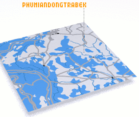 3d view of Phumĭ Ândong Trâbêk