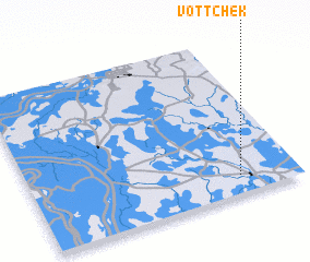 3d view of Vôtt Chék