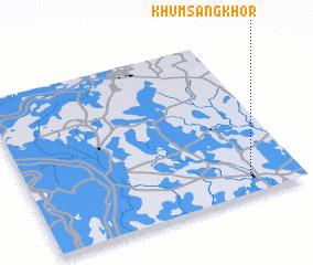 3d view of Khŭm Sângkhôr