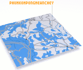 3d view of Phum Kompong Mean Chey