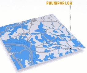 3d view of Phumĭ Pôpléa