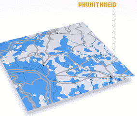 3d view of Phumĭ Thmei (3)