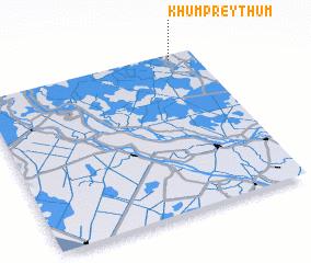 3d view of Khŭm Prey Thum
