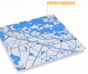 3d view of Phumĭ Takœ̆ng