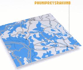 3d view of Phumĭ Prey Srâkum (1)