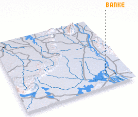 3d view of Ban Kè