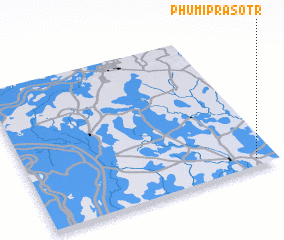 3d view of Phumĭ Prâsotr