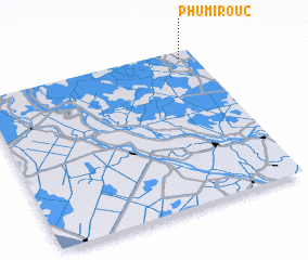 3d view of Phumĭ Roŭ (2)