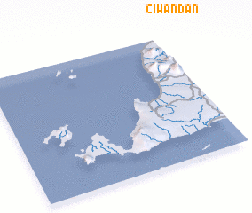 3d view of Ciwandan