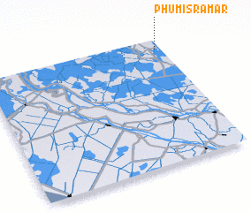 3d view of Phumĭ Srâmâr
