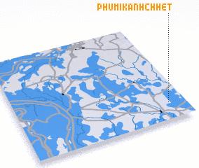 3d view of Phumĭ Kânhchhêt