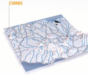 3d view of Ciomas