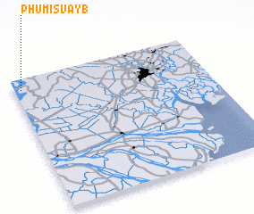 3d view of Phumĭ Svay (1)