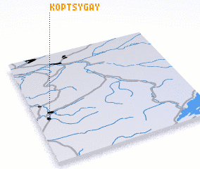 3d view of Koptsygay