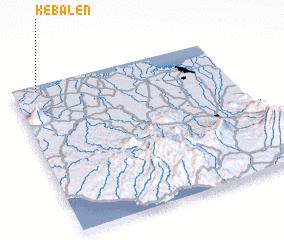 3d view of Kebalen