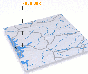 3d view of Phumĭ Dar