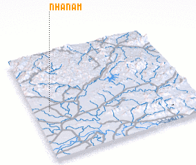 3d view of Nhã Nam