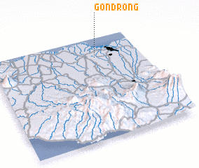 3d view of Gondrong
