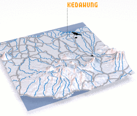 3d view of Kedawung