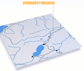 3d view of Verkhniy Ubukun