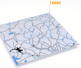 3d view of Ta Ban