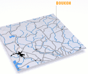 3d view of Bou Koh