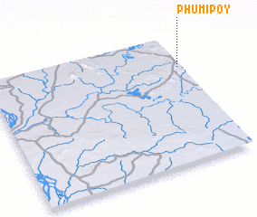 3d view of Phumĭ Pôy