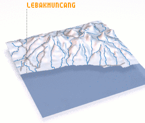 3d view of Lebakmuncang