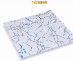 3d view of Phumĭ Poŭ