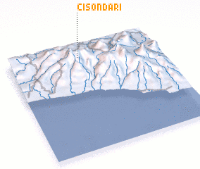 3d view of Cisondari